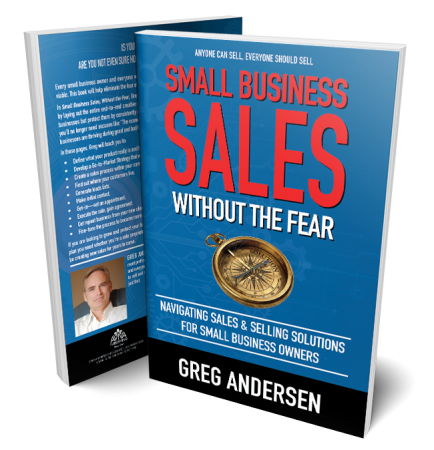 Small Business Sales Without The Fear - 3d Book Cover